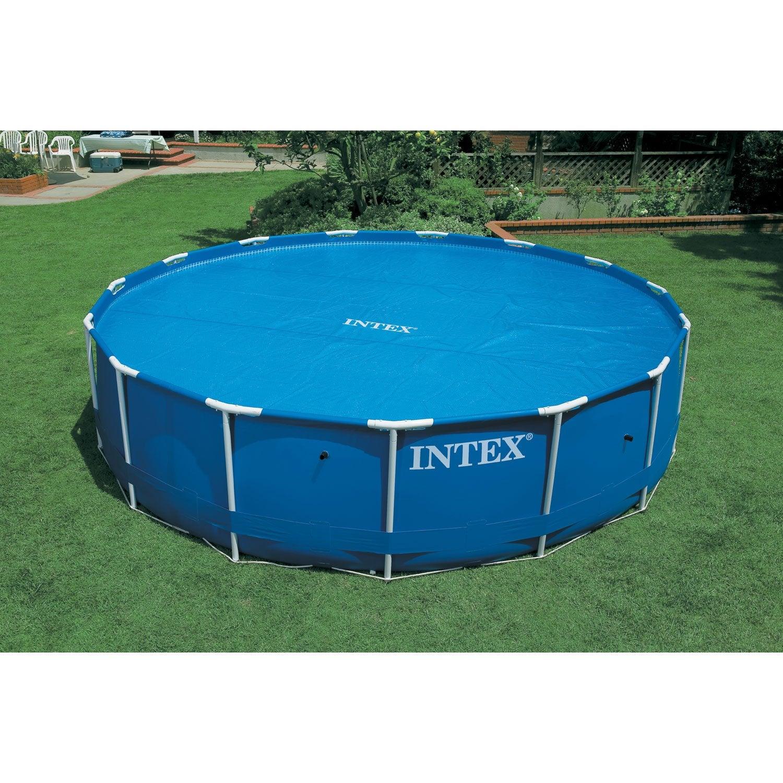B che bulle intex pour piscine diam 3m05 diam 290 cm for Bache piscine leroy merlin