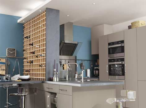 bar with plan de travail separation cuisine sejour. Black Bedroom Furniture Sets. Home Design Ideas