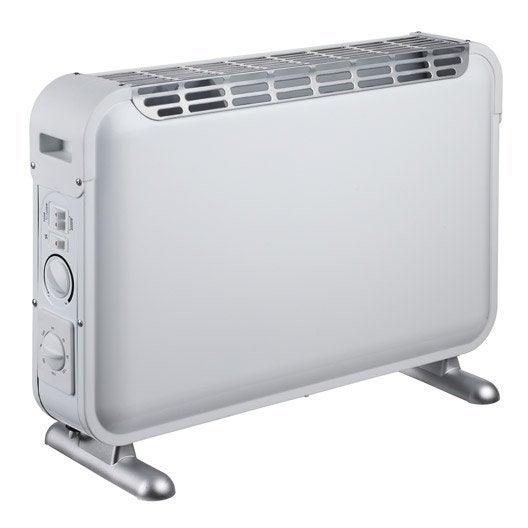 convecteur mobile et panneau rayonnant - chauffage d'appoint et