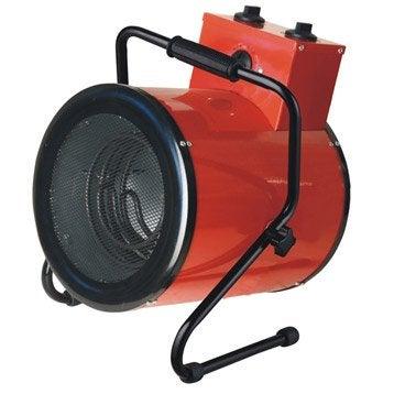 Chauffage de chantier électrique EQUATION West 3300 W