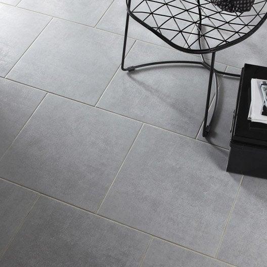Carrelage sol et mur gris effet b ton factory x - Marque de carrelage ...