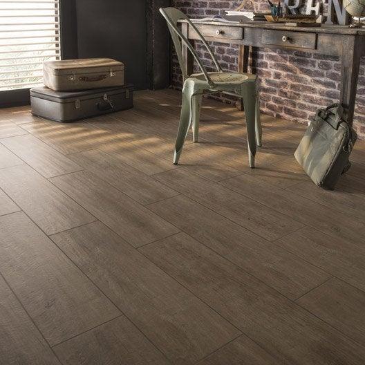 carrelage sol et mur naturel effet bois oural x cm leroy merlin. Black Bedroom Furniture Sets. Home Design Ideas