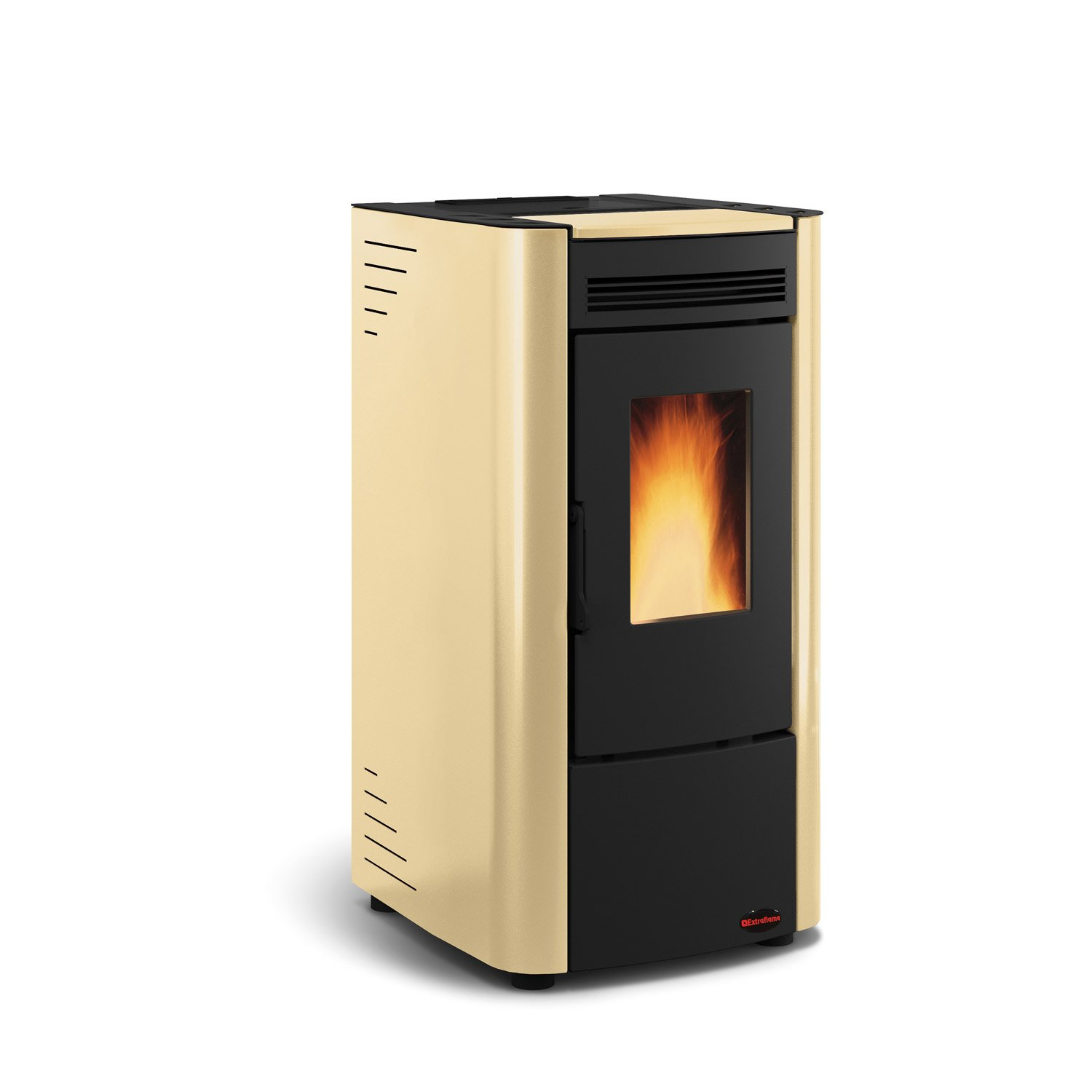 po le granul s extraflame ketty beige 6 3 kw leroy merlin. Black Bedroom Furniture Sets. Home Design Ideas