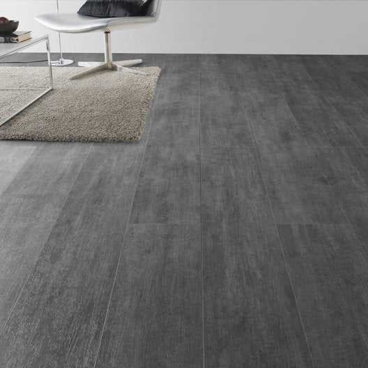 Lame pvc clipsable nolita grey gerflor senso lock plus for Dalles pvc clipsables gerflor