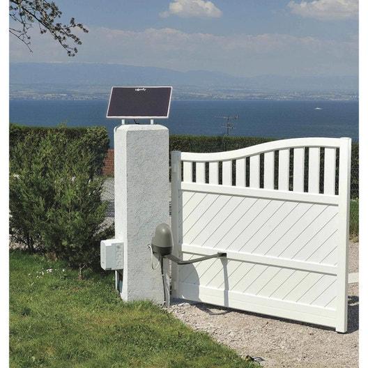 kit d alimentation solaire pour motorisation somfy leroy merlin. Black Bedroom Furniture Sets. Home Design Ideas