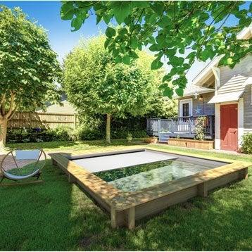 piscine piscine hors sol bois gonflable tubulaire acier au meilleur prix leroy merlin. Black Bedroom Furniture Sets. Home Design Ideas
