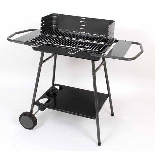 Barbecue fonte bois du barbecue charbon de bois bergamo napoleon charbon de bois barbecue - Barbecue fonte charbon de bois leroy merlin ...