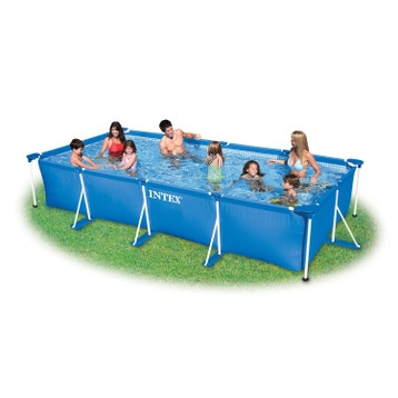 Piscine hors sol piscine bois gonflable tubulaire for Piscine gonflable 2m diametre