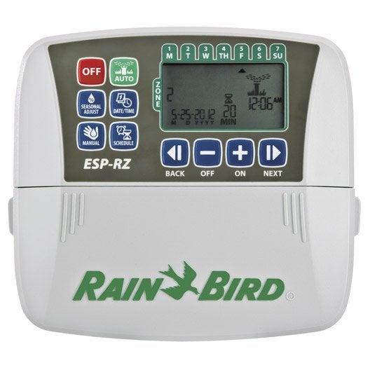 programmateur electrique rain bird esp rzx6 multivoie leroy merlin. Black Bedroom Furniture Sets. Home Design Ideas