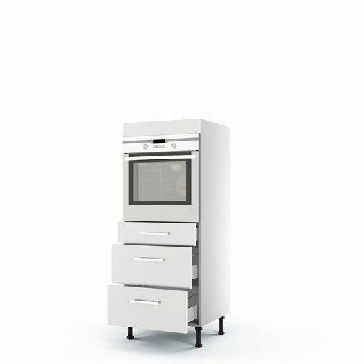meuble de cuisine blanc delinia d lice leroy merlin. Black Bedroom Furniture Sets. Home Design Ideas