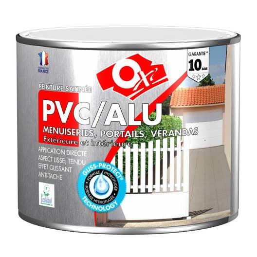 peinture pvc aluminium galva extrieur oxy oxytol blanc 15 l