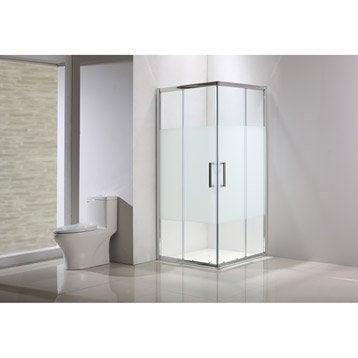 Porte de douche leroy merlin for Porte de douche 80x80