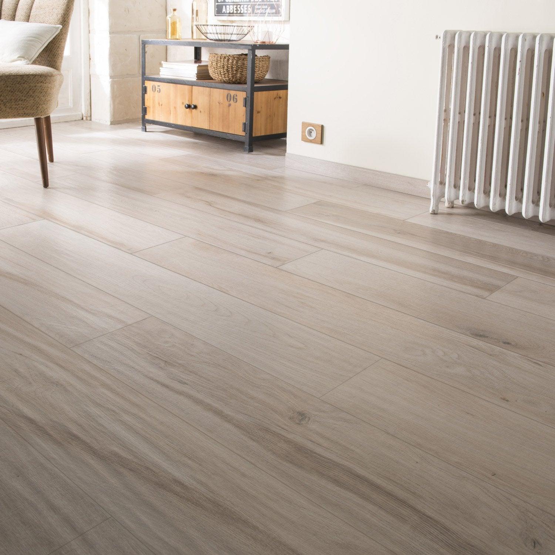 carrelage sol et mur naturale effet bois authentic x cm leroy merlin. Black Bedroom Furniture Sets. Home Design Ideas