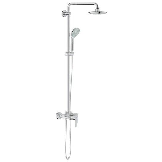 Colonne de douche avec robinetterie grohe euphoria 180 leroy merlin - Robinetterie grohe douche ...
