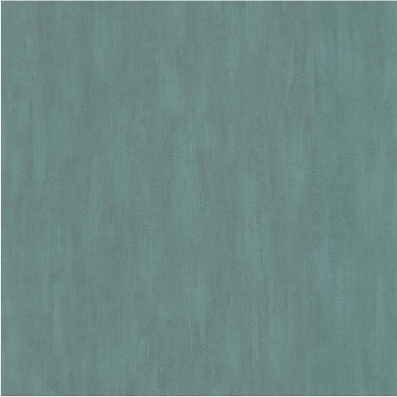 Papier Peint Vinyle Uni Pinceau Bleu Canard Leroy Merlin