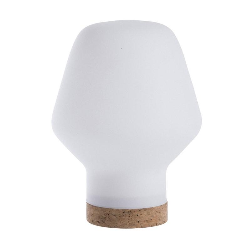 Lampe Scandinave Bois Blanc Givre Lussiol Borg Leroy Merlin
