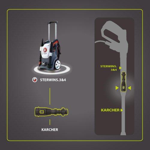 Adaptateur Machines Karcher Pour Accessoires Sterwins