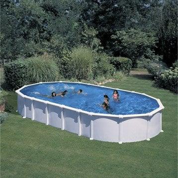 Piscine piscine hors sol bois gonflable tubulaire - Decathlon piscine gonflable ...