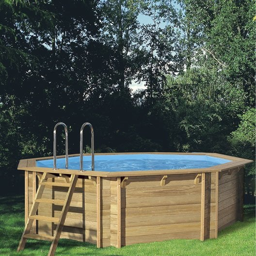 Piscine hors sol piscine bois gonflable tubulaire for Piscine ronde en bois hors sol
