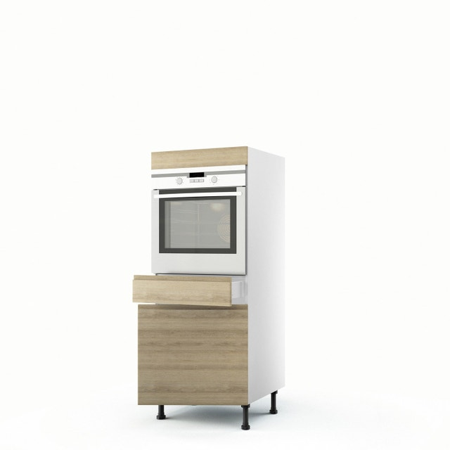 la cuisine allie joliment bois et inox leroy merlin. Black Bedroom Furniture Sets. Home Design Ideas