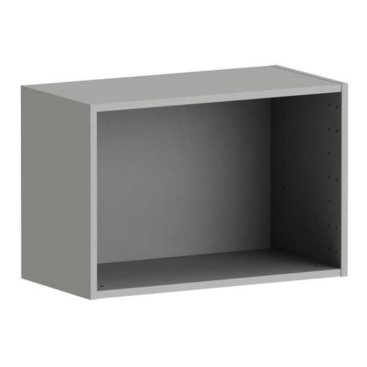caisson spaceo home 40 x 60 x 30 cm anthracite leroy merlin. Black Bedroom Furniture Sets. Home Design Ideas