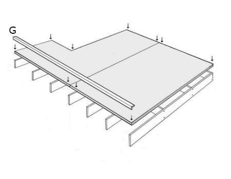 dterminez le sens de pose dans la longueur ou dans la profondeur de lu estrade de faon limiter. Black Bedroom Furniture Sets. Home Design Ideas