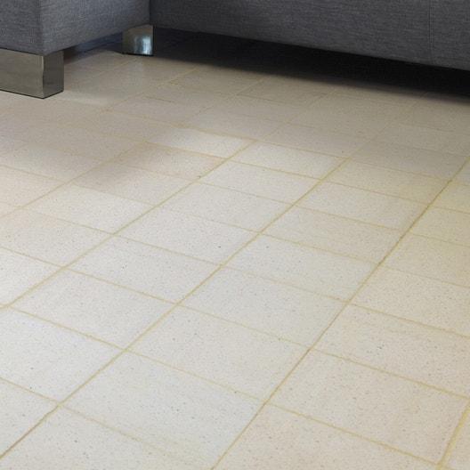 terre cuite sol et mur blanc effet pierre rairies liberti x cm leroy merlin. Black Bedroom Furniture Sets. Home Design Ideas