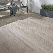 Carrelage sol brun clair effet bois Heritage l.20 x L.120 cm