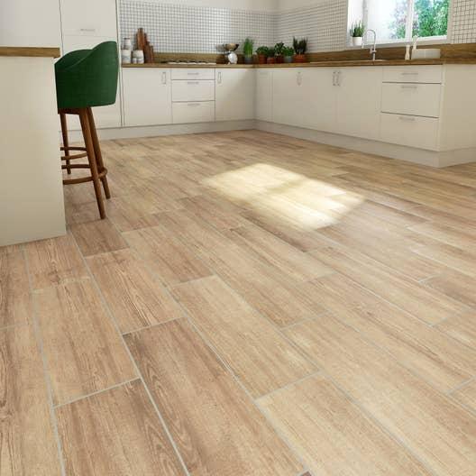 carrelage sol naturel effet bois baya x cm leroy merlin. Black Bedroom Furniture Sets. Home Design Ideas