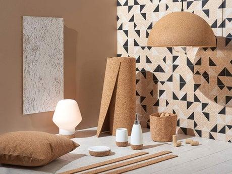shopping le renouveau du li ge dans la d co leroy merlin. Black Bedroom Furniture Sets. Home Design Ideas