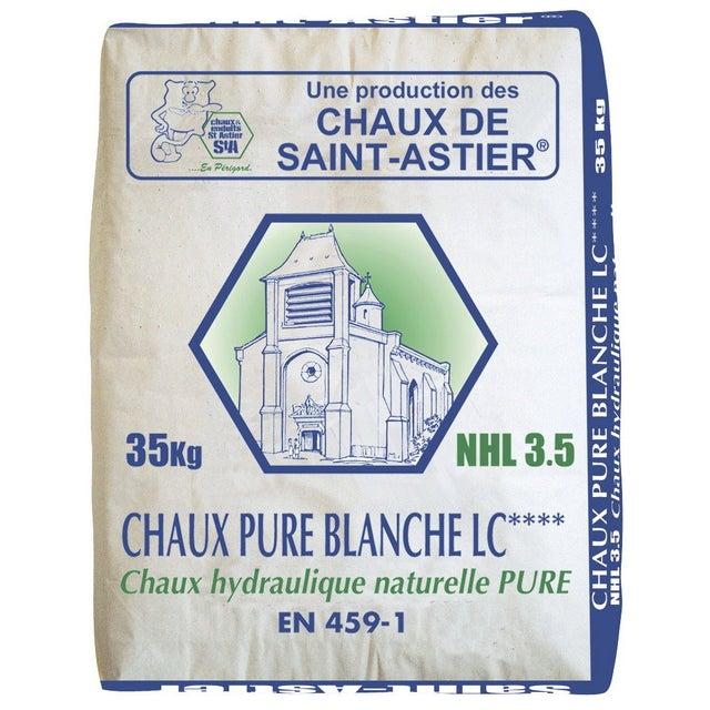 Chaux Blanche Ce Vicat 35 Kg