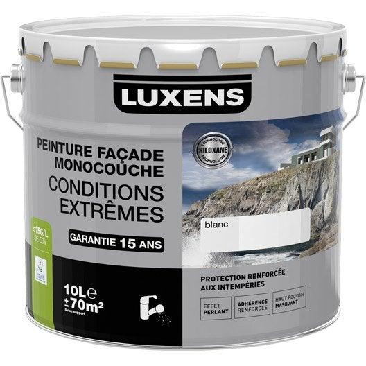 Peinture fa ade conditions extr mes luxens ton pierre 10 for Couleur ton pierre facade