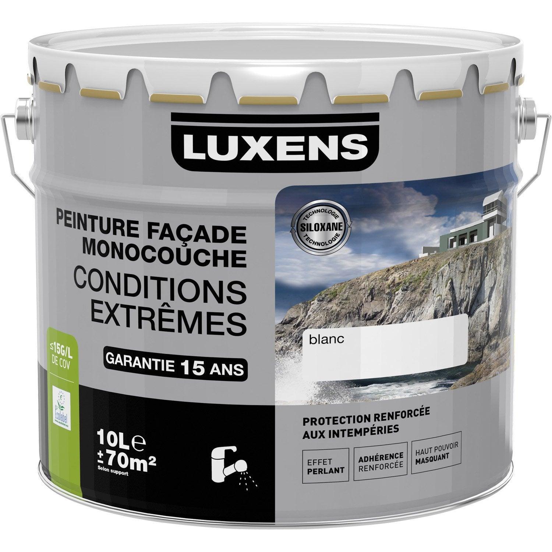 peinture fa ade conditions extr mes luxens gris cendr 10 l leroy merlin. Black Bedroom Furniture Sets. Home Design Ideas