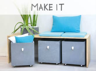 DIY : Créer un banc de rangements