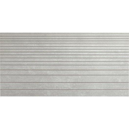 Carrelage sol et mur gris d cor tr sor incis x for Carrelage 30 60 gris