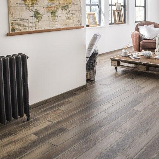 carrelage sol et mur naturel effet bois lousiane x l. Black Bedroom Furniture Sets. Home Design Ideas