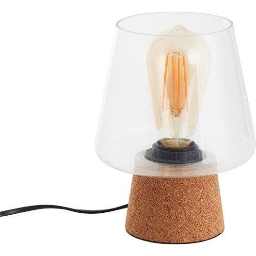 lampe lampe design sur pied et poser leroy merlin au meilleur prix leroy merlin. Black Bedroom Furniture Sets. Home Design Ideas