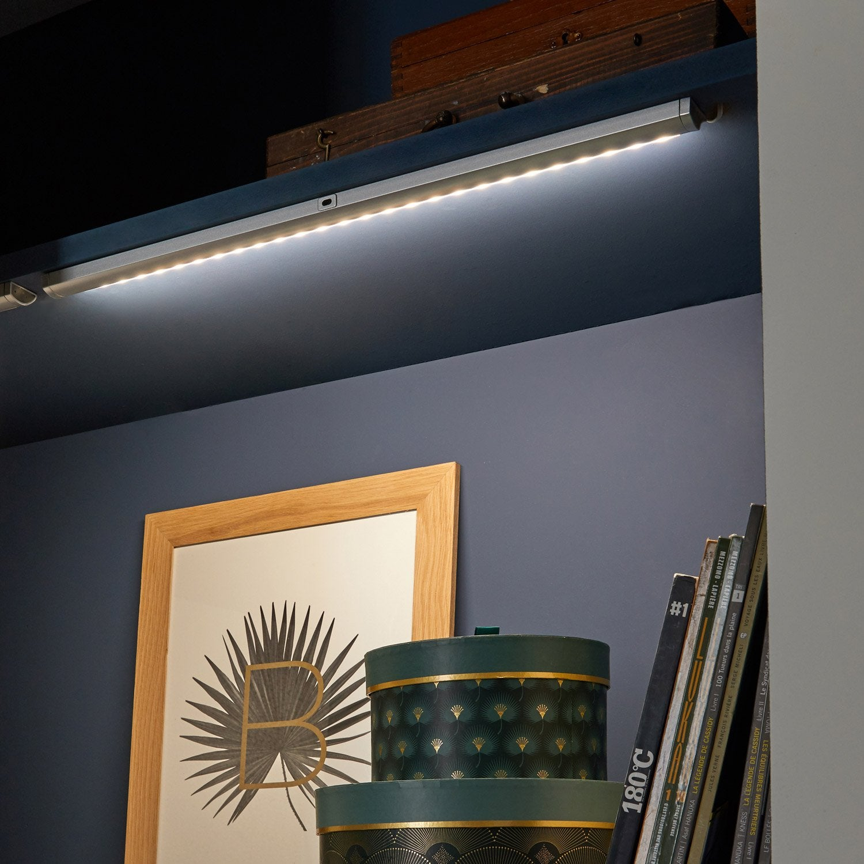 r glette rio led 1 x 5 w led int gr e blanc froid leroy merlin. Black Bedroom Furniture Sets. Home Design Ideas