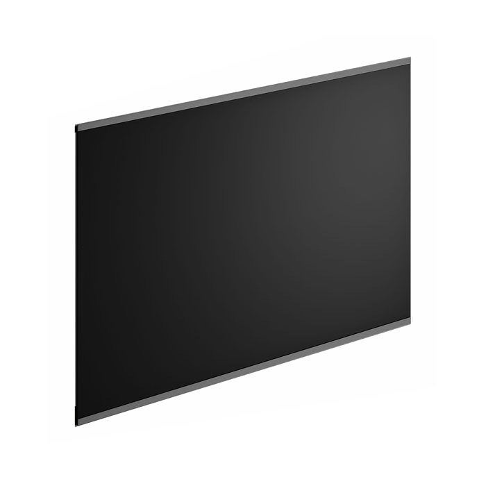 cr dence verre rio noir cm x cm leroy merlin. Black Bedroom Furniture Sets. Home Design Ideas