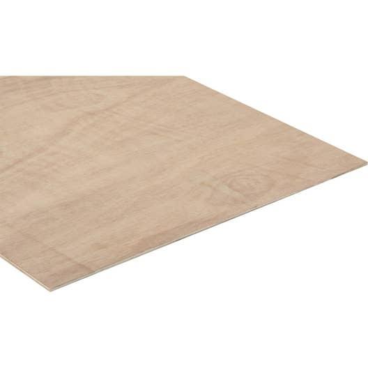 panneau contreplaqu ordinaire ep 5 mm x x cm leroy merlin. Black Bedroom Furniture Sets. Home Design Ideas