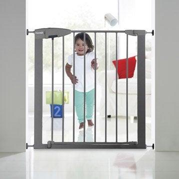 Barrière de sécurité enfant MUNCHKIN métal, L.73/79 cm, H.75 cm