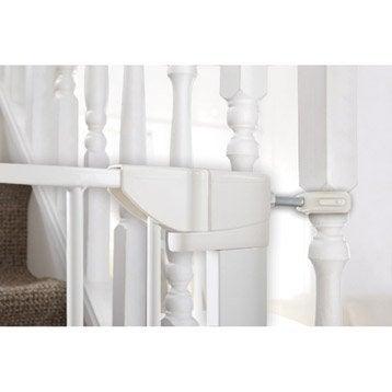 Kit de fixation escalier Y métal pour barrière de sécurité MUNCHKIN portillon