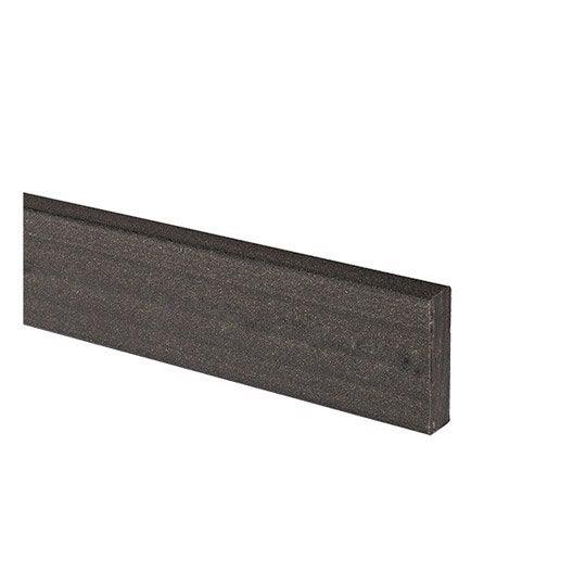 plinthe composite gris saga l 2 x l m leroy merlin. Black Bedroom Furniture Sets. Home Design Ideas