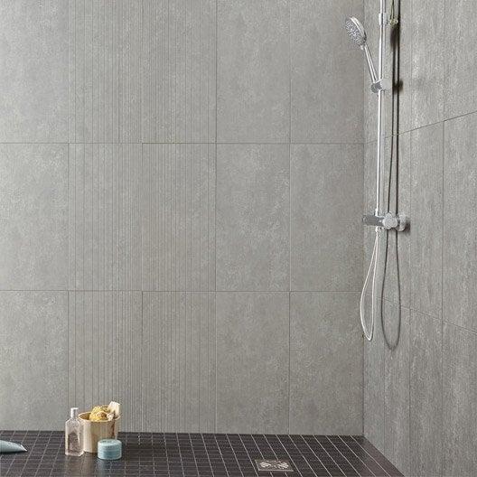 Carrelage sol et mur silver tresor x cm for Pose carrelage mur