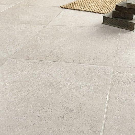 Carrelage sol et mur gris effet pierre tesalia x for Joint carrelage gris