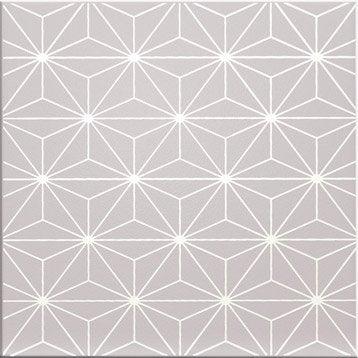 Décor Astuce atsugi granit n°5, l.20 x L.20 cm