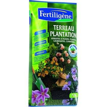 Terreau plantation FERTILIGENE, 70 l