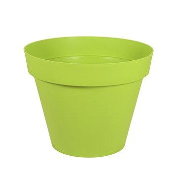 Pot de fleurs jardini re poterie d corative leroy merlin - Pot en bois exterieur ...