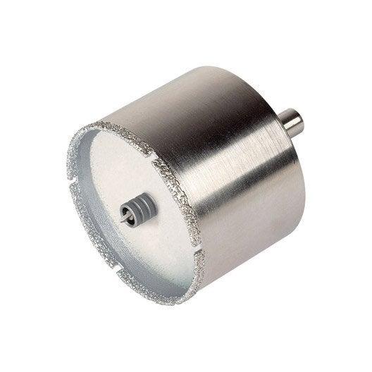 trépan diamant carrelage multimatériau, diam. de 41 à 60 mm