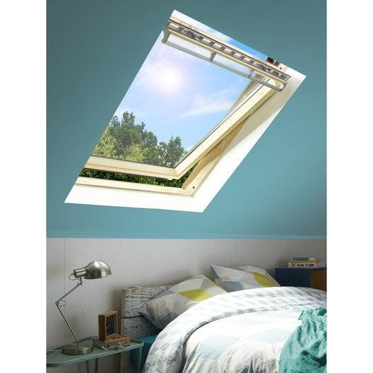 velux ggl sk06 confort par rotation x cm leroy merlin. Black Bedroom Furniture Sets. Home Design Ideas